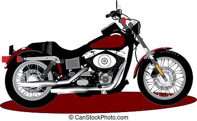 motorbike - red motorbike