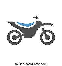 motorbike flat icon