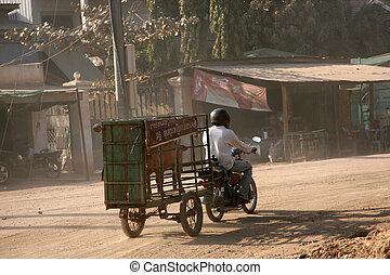 Motorbike - Phnom Penh, Cambodia