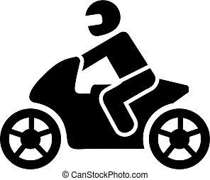 Motorbike pictogram