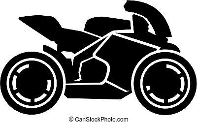 Motorbike racing bike