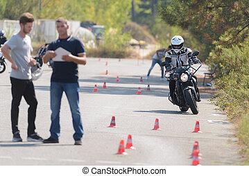 motorbike test