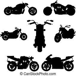 motorbike, (vector)