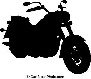 motorbike (vector) - motorbike made in vector