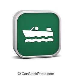 Motorboat sign