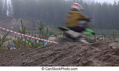 Motorcross extreme sport competition
