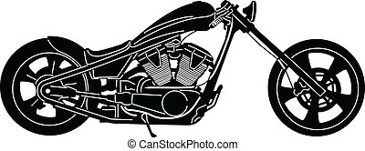 Motorcycle-05 - illustration of great Detailed Motorcycle...