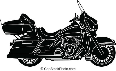 Motorcycle-06 - illustration of great Detailed Motorcycle ...