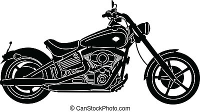 Motorcycle-07 - illustration of great Detailed Motorcycle ...