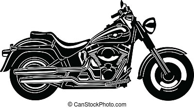 Motorcycle-09 - illustration of great Detailed Motorcycle ...