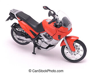 motorcycle 1 - motorcycle sporty, fancy, detailed diecast on...