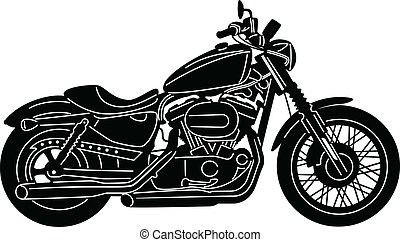 Motorcycle-11 - illustration of great Detailed Motorcycle ...