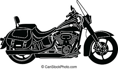 Motorcycle-12 - illustration of great Detailed Motorcycle...