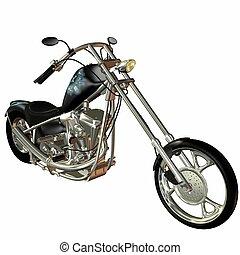 Motorcycle - 3D Render