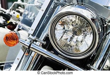 Motorcycle Bits: Headlight