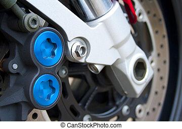 Motorcycle braking system - A braking system of a modern...