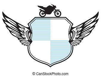 Motorcycle Club Shield
