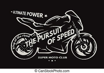 motorcycle., desporto, superbike
