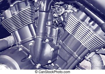 Motorcycle engine motor