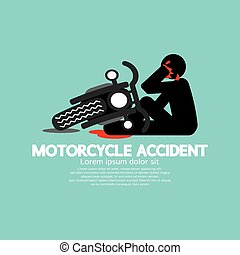 Motorcycle Have In An Accident.