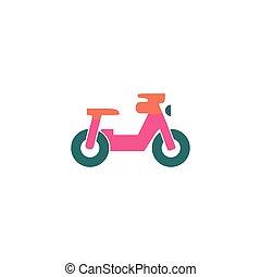 Motorcycle Icon Vector