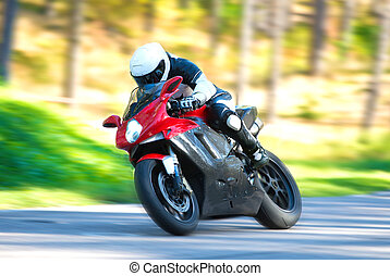 motorcycle jeździec