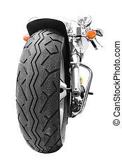 Motorcycle - Motor bike in high key