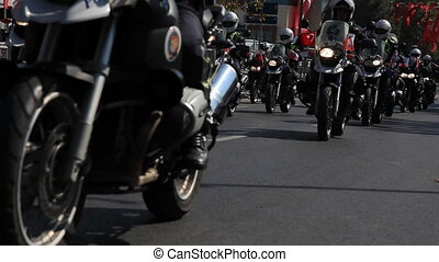 motorcycle police
