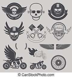 Motorcycle race, motorcycle club, biker club, motorcycle shop lo