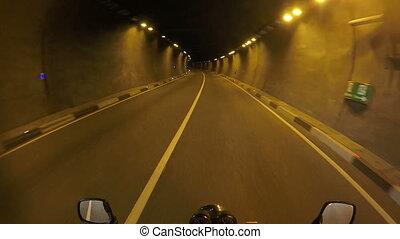motorcycle road trip, towards adventures, riding through...