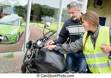 motorcycle study