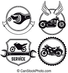 motorcycle, tegn