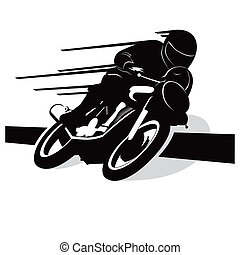 Motorcycle vector background