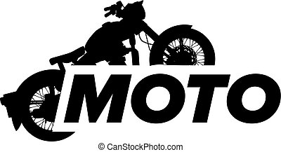 Motorcycle vector icon