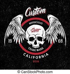 Motorcycles Trademark Emblem