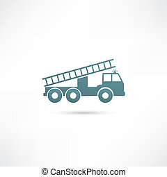 motore, fuoco, vettore, illustrazione