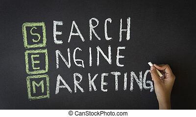 motore, marketing, ricerca
