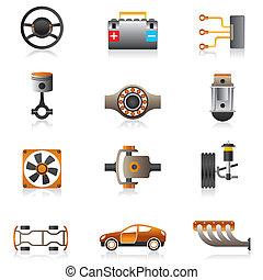 motore, parti macchina