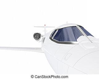 motorflugzeug, düse