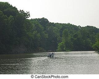 Motorized Boat