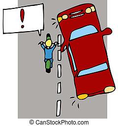 motorkerékpár, baleset