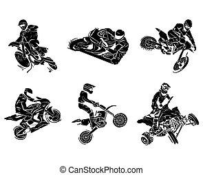 motorkerékpár, tetovál, gyűjtés
