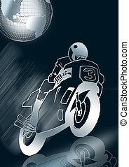 motorkerékpár, versenyzés, 3