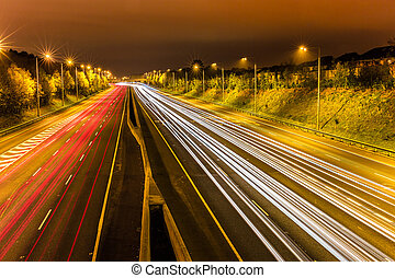 motorway, dublin, m50, dookoła