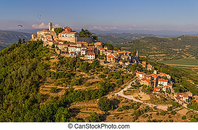 Motovun - Croatia - Motovun is a small village in central...