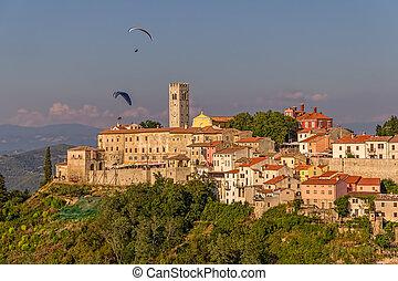 Motovun - Croatia - Motovun is a small village in central...