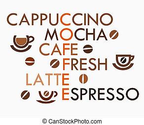 mots croisés, café