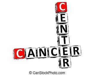 mots croisés, centre, cancer, 3d