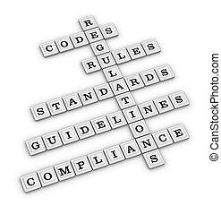 mots croisés, conformité