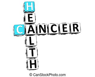 mots croisés, santé, cancer, 3d